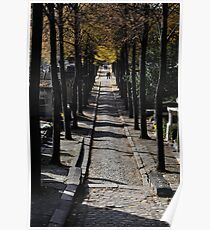 cimetière du père-lachaise, paris Poster