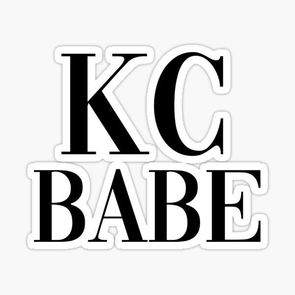 Kansas City Babe Sticker