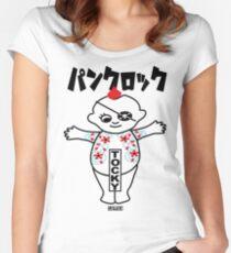 Kewpie Tattoo Women's Fitted Scoop T-Shirt