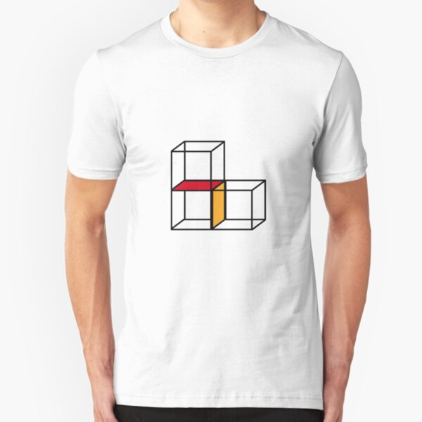Cubes & Block Slim Fit T-Shirt