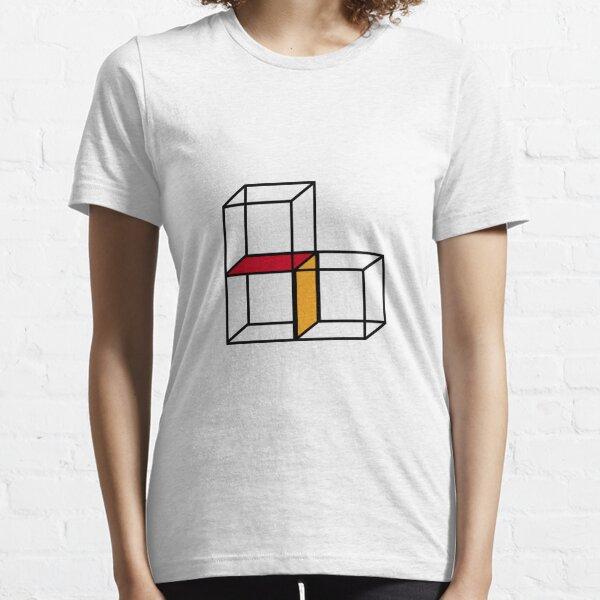 Cubes & Block Essential T-Shirt