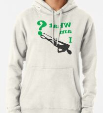 THE RIDDLER - WHAT AM I? Pullover Hoodie