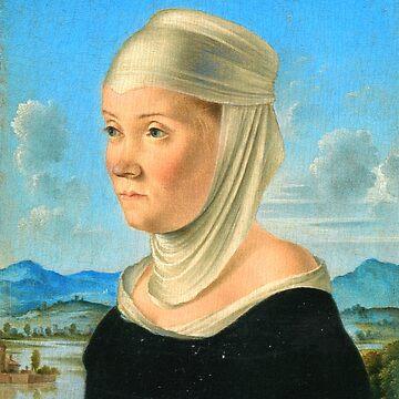 Lady in Head Scarf by ExpressingSelf