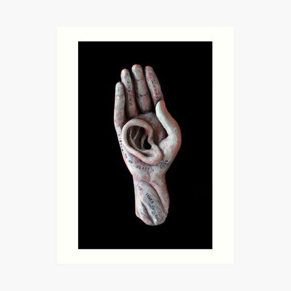 Listening Deeply Art Print