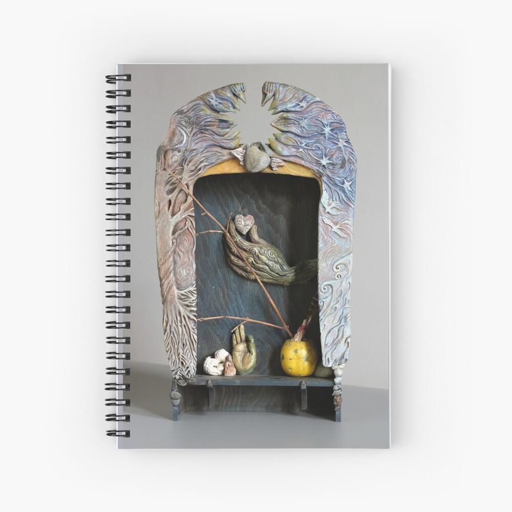 Healer's Journey Spiral Notebook