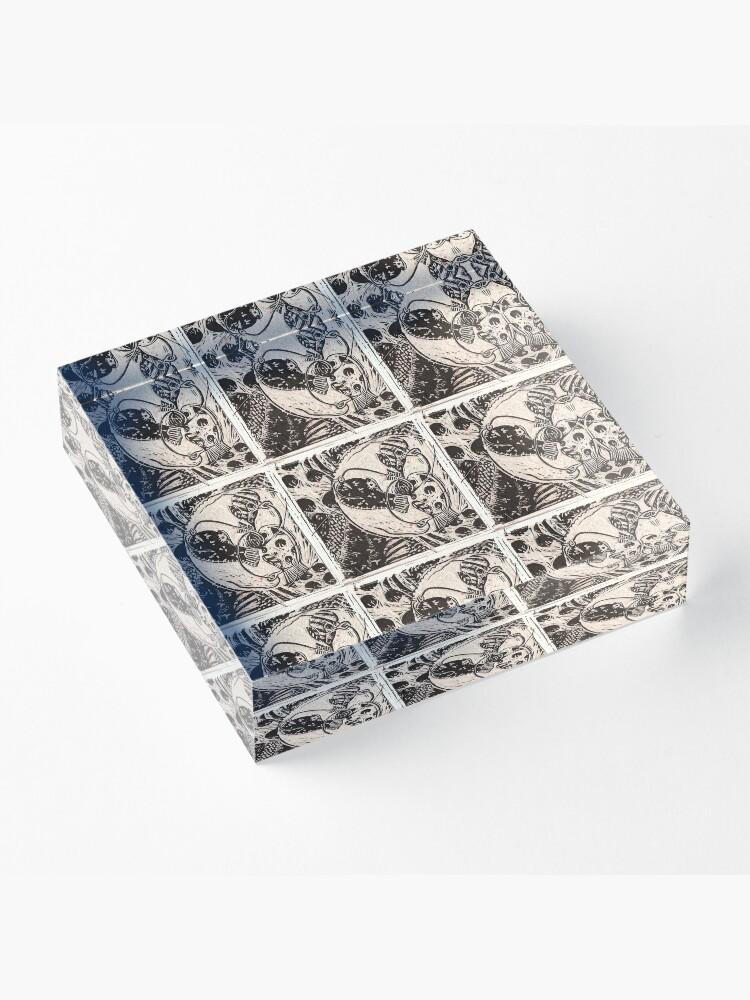 Alternate view of Mitten Making  Acrylic Block