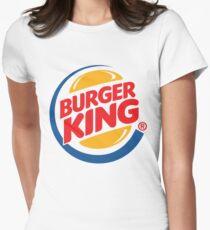 Burger King Logo Women's Fitted T-Shirt