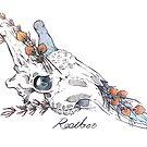 MorbidiTea - Rooibos with Giraffe Skull by MicaelaDawn