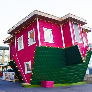 Upside down house in Bournemouth by santoshputhran