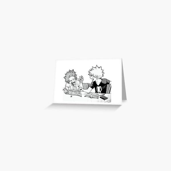 kiribaku / bakushima Greeting Card