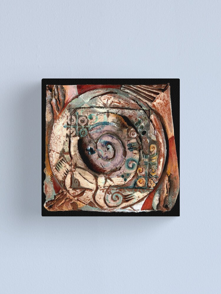 Alternate view of Centering Canvas Print