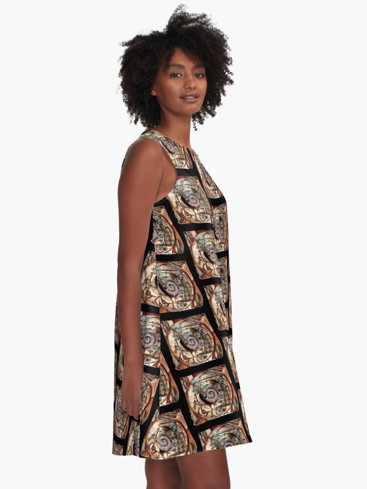 Alternate view of Centering A-Line Dress