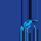 Barcode Frog by Moncs