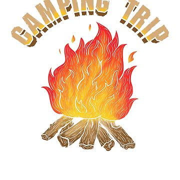 Campfire Camping Trip Adventure by KanigMarketplac
