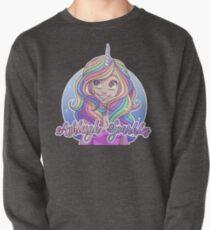 Funkelt klassisches Logo Sweatshirt