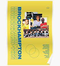 BROCKHAMPTON POSTER Poster