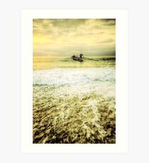 Surf Lifesavers Art Print