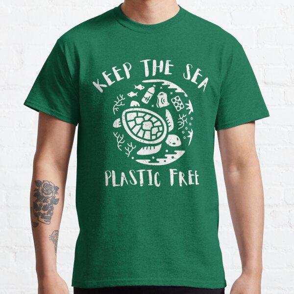 Keep The Sea Plastic Free - Turtle Classic T-Shirt
