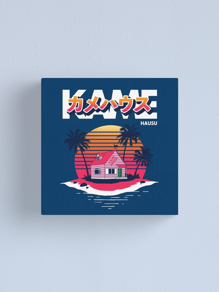 Alternate view of Kame House Canvas Print