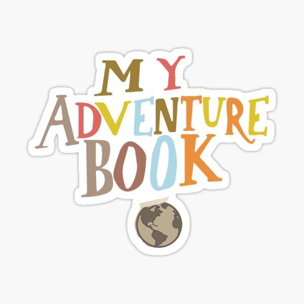 My adventure book sticker  Sticker