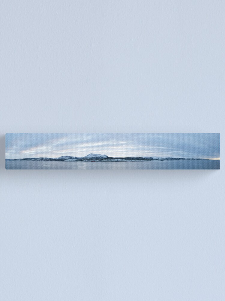 Alternate view of Norwegian vista near Trondheim Canvas Print