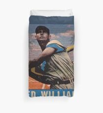Ted Williams  Duvet Cover