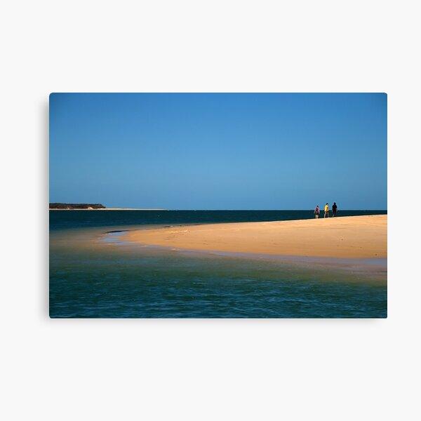 Beach Walk at Inskip Point Canvas Print