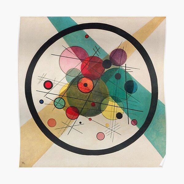 Cercles Dans Un Cercle 1923 Poster
