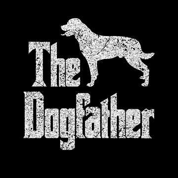 The Dogfather Rottweiler Dog funny gift idea by HEJAshirts