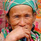 Flower Hmong by Alex  Bramwell