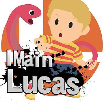 I Main Lucas - Super Smash Bros. Ultimate by PrincessCatanna