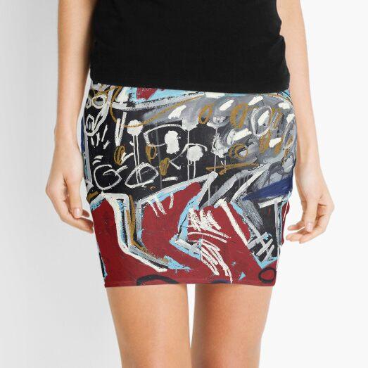 Baquiat dog Mini Skirt