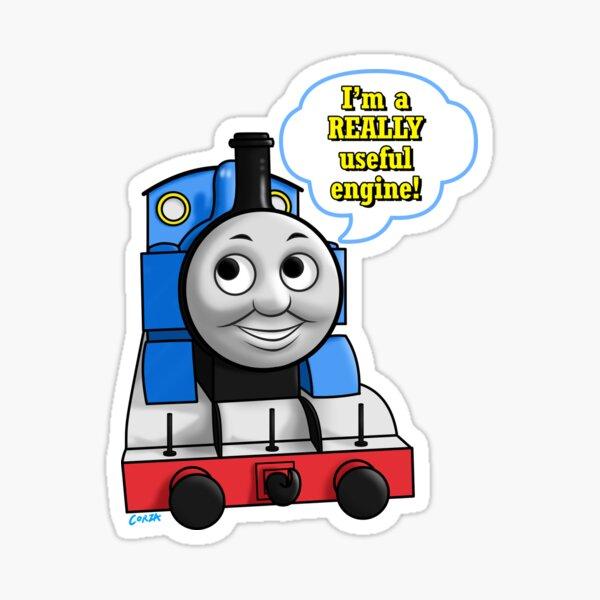 "Thomas ""Really useful engine"" Sticker"