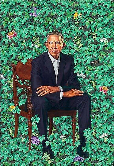 Obama-Porträt von Gordon David