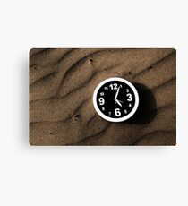 Clocks and ripples Canvas Print