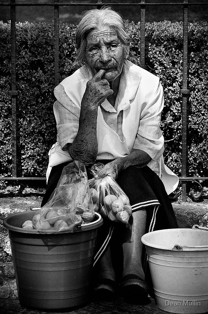 The Peach Seller by Dean Mullin