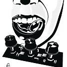 Licking Circuits by Bizarro Art