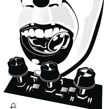 Licking Circuits by BizarroArt
