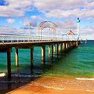 Brighton Jetty landscape by Elana Bailey
