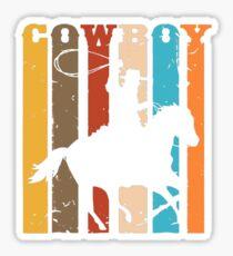 Red Moon Cowboy Red Dead Erlösung Sticker