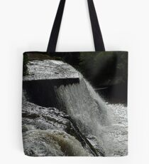 The Cascades Waterfall in Ennistymon Tote Bag