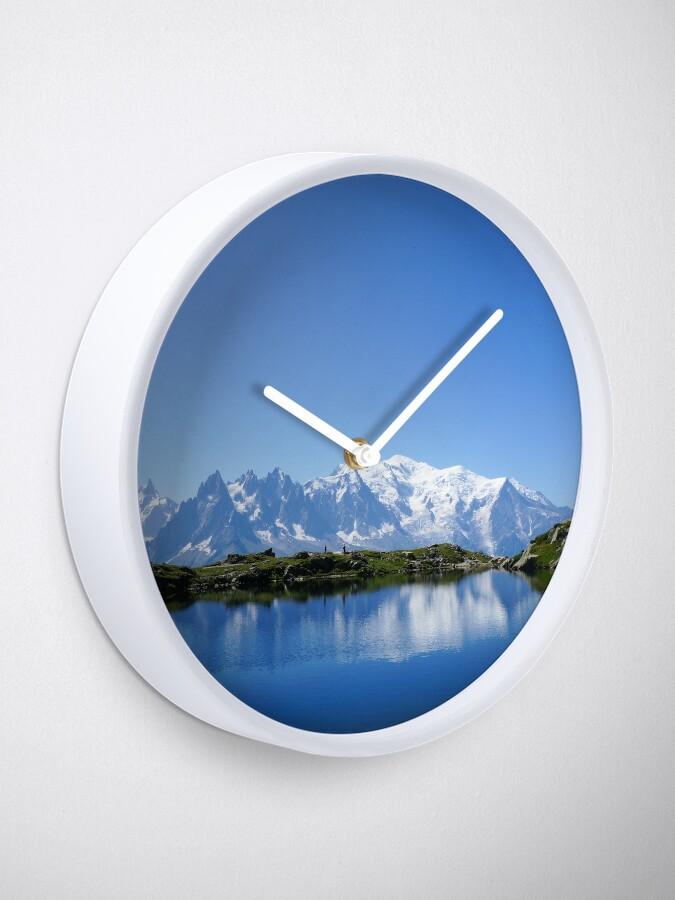 Alternate view of Mont Blanc Clock