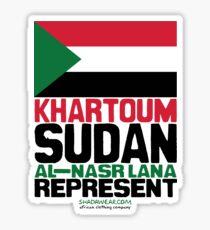 Khartoum, Sudan represent Sticker
