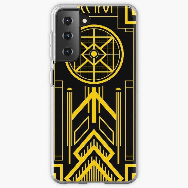 Star Trek - Art Deco Enterprise Samsung Galaxy Soft Case