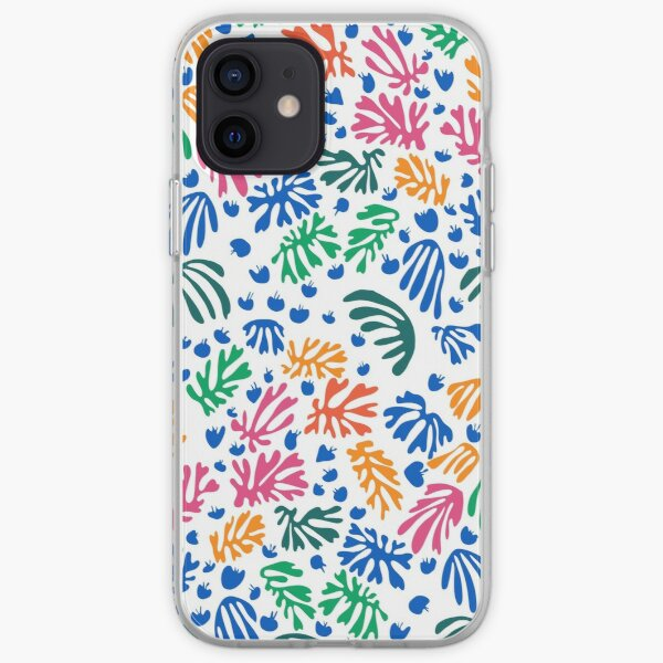 Matisse Colorful Pattern # 1 Coque souple iPhone