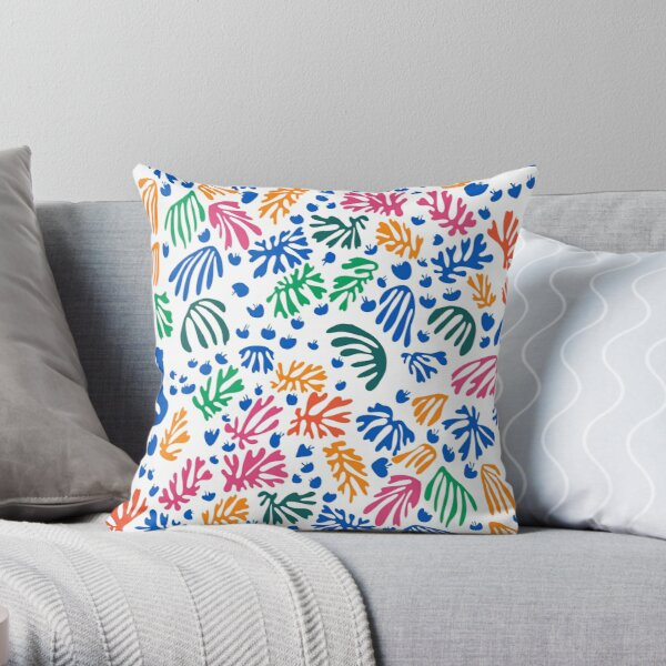 Matisse Colorful Pattern # 1 Coussin