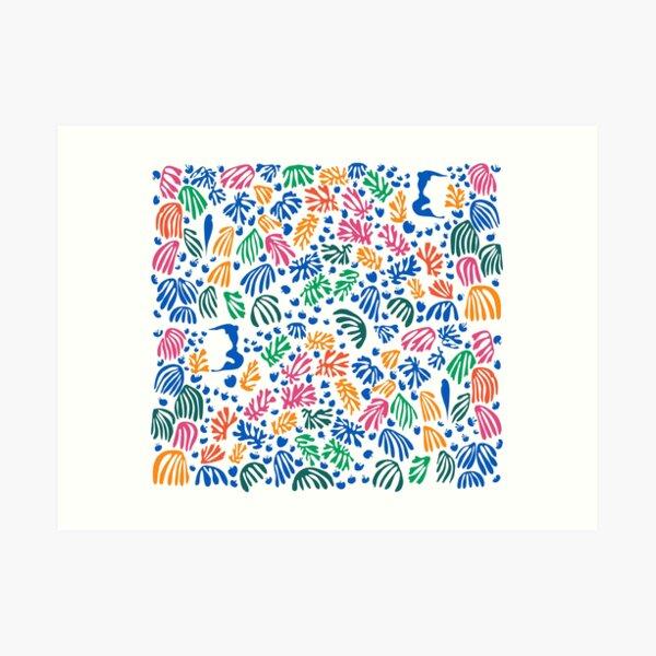 Matisse Colorful Pattern #1 Art Print