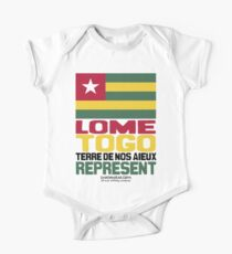 Lome, Togo, Represent One Piece - Short Sleeve