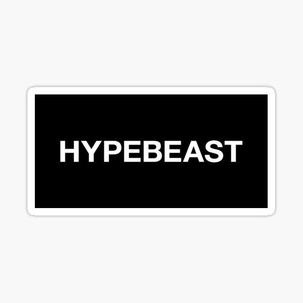 hypebeast Pegatina