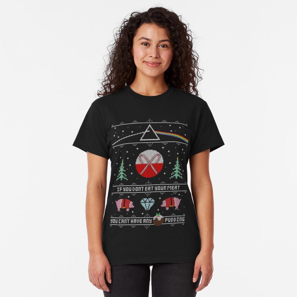 Hey Yule - Pink Christmas Classic T-Shirt